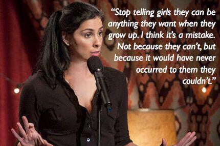 Why I love @SarahKSilverman. #HappyInternationalWomensDay http://t.co/3recwJWpti