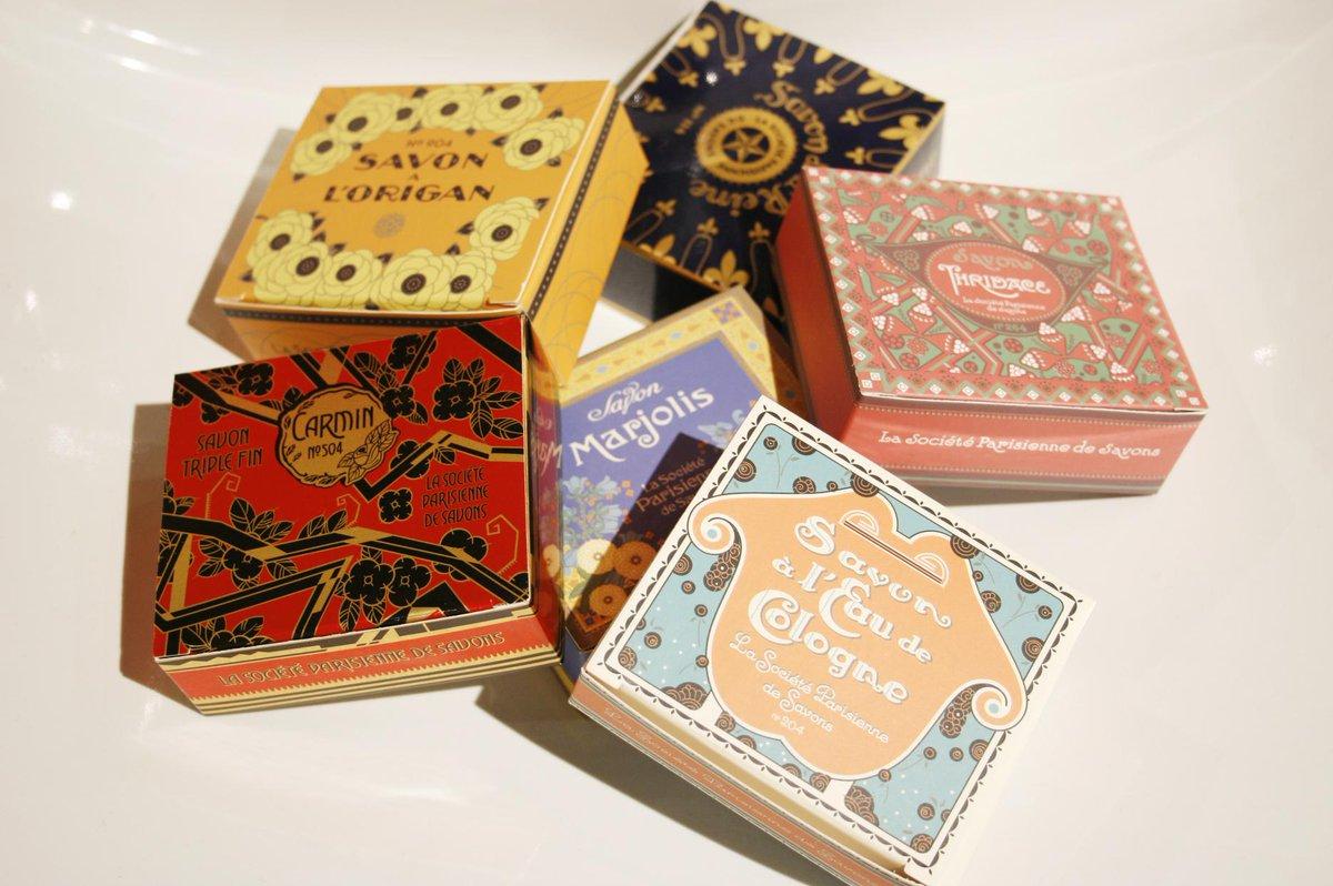 パリで誕生した「パリジェンヌ ドゥ サヴォン」。フレッシュな香りを用いたオリジナリティー溢れる石鹸を作っています。シンプルでクラシカル、エレガントにデザインされたパッケージも魅力。 http://t.co/9J8HrTdk9Z