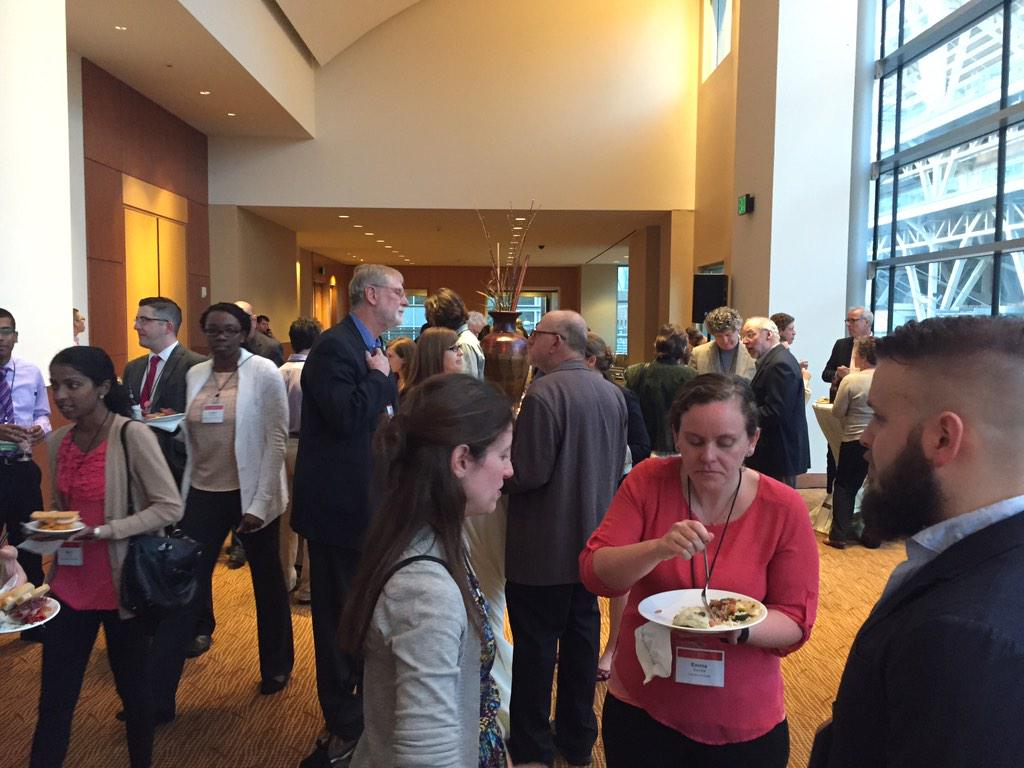 And #Lown2015 has begun! Lots of folks here at the cocktail reception. http://t.co/jWYsRsKSBb