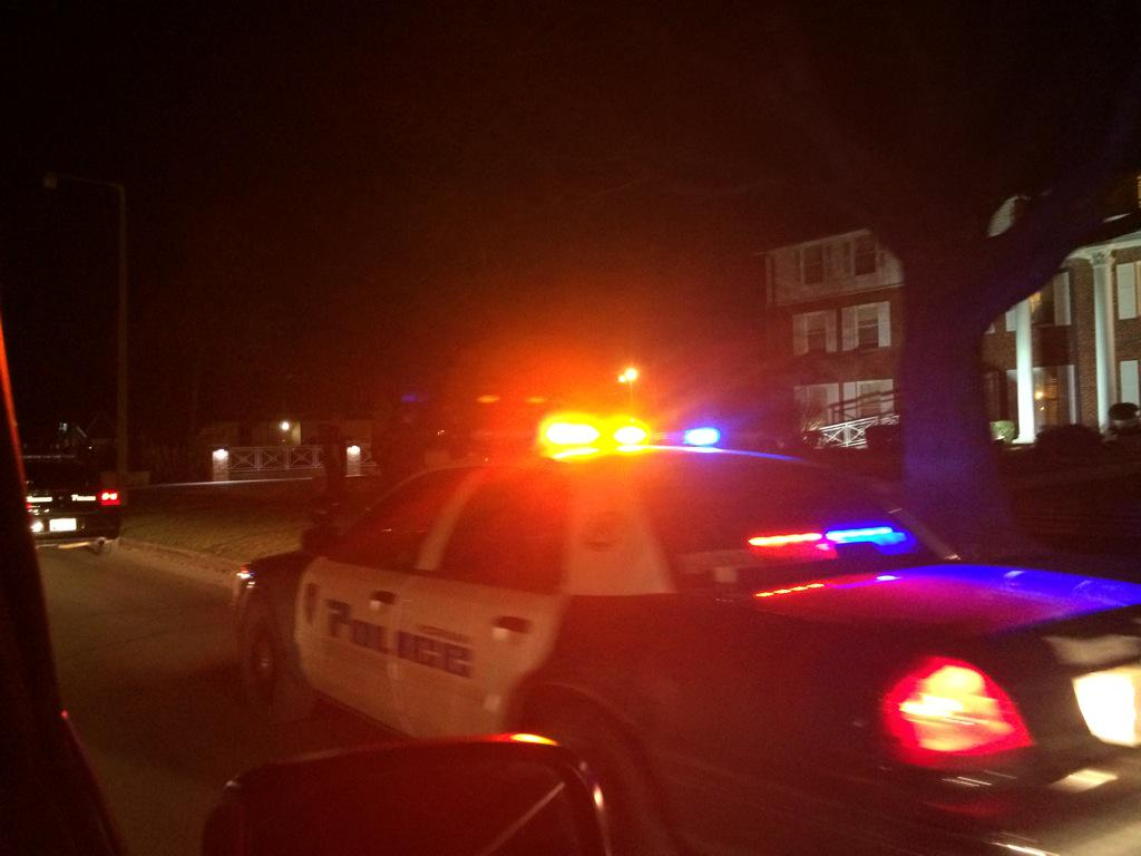 "Breaking: Norman & #OU police at #SAE frat house for ""safety concerns"" due to viral video. #SAEHatesMe http://t.co/KfIEfYRuoy"