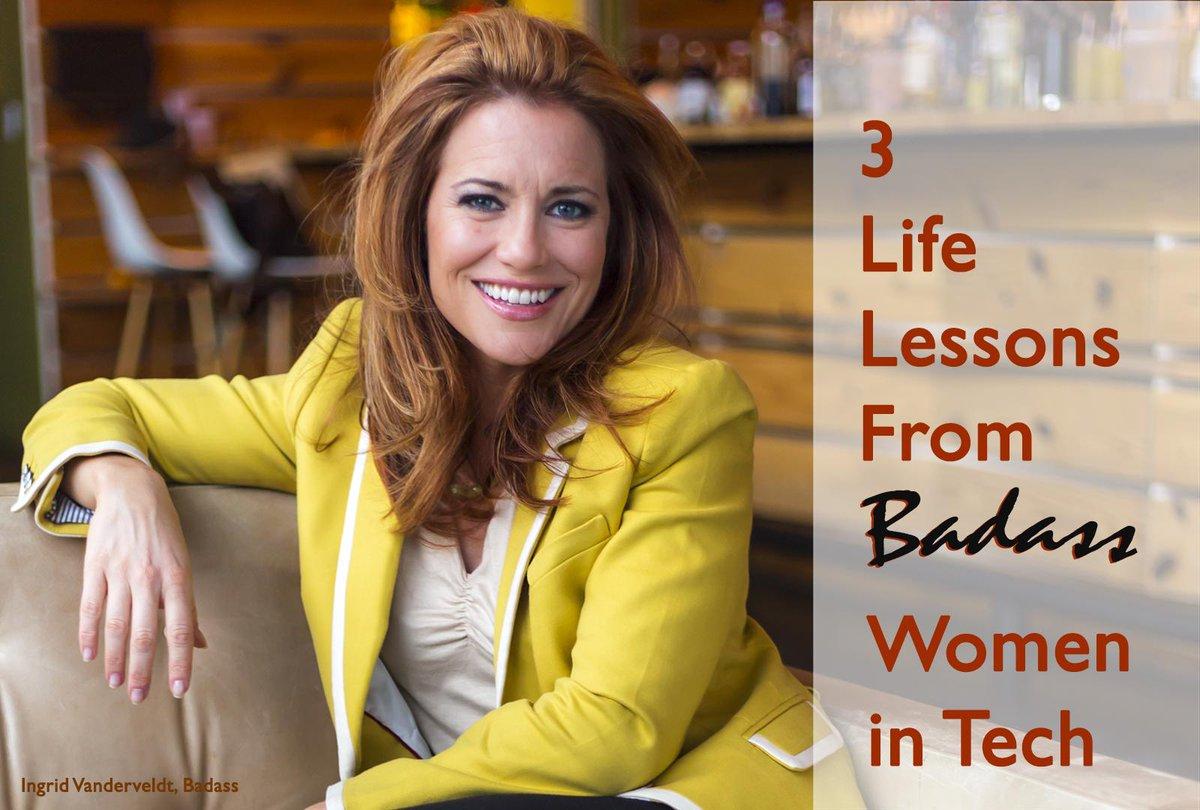 3 Life Lessons from Badass Women in Tech: http://t.co/BMeQj0Z2EL #womensday2015 #womenintech #500WOMEN http://t.co/wwFf6hbWN6