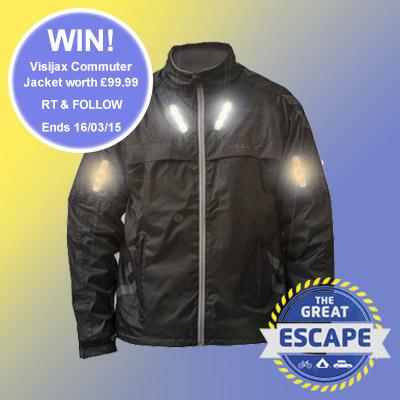 #Competition - RT & Follow to #win this @Visijax cycling jacket worth £99! Check it out here: http://t.co/9MsG1eD3mg http://t.co/9DxE9x8m0s