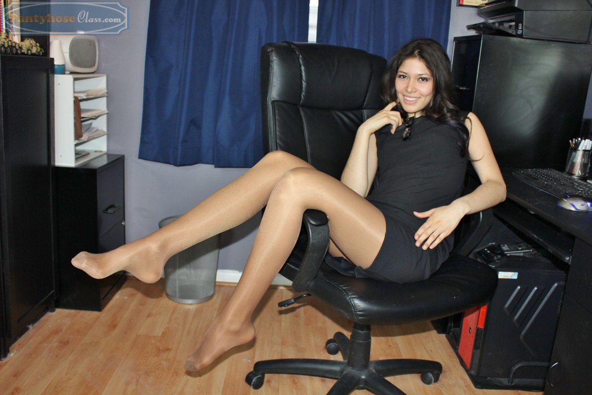 Pantyhose in the office