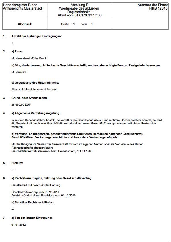 Handelsregister Schnittstelle Firmendaten Per Api Beziehen 8