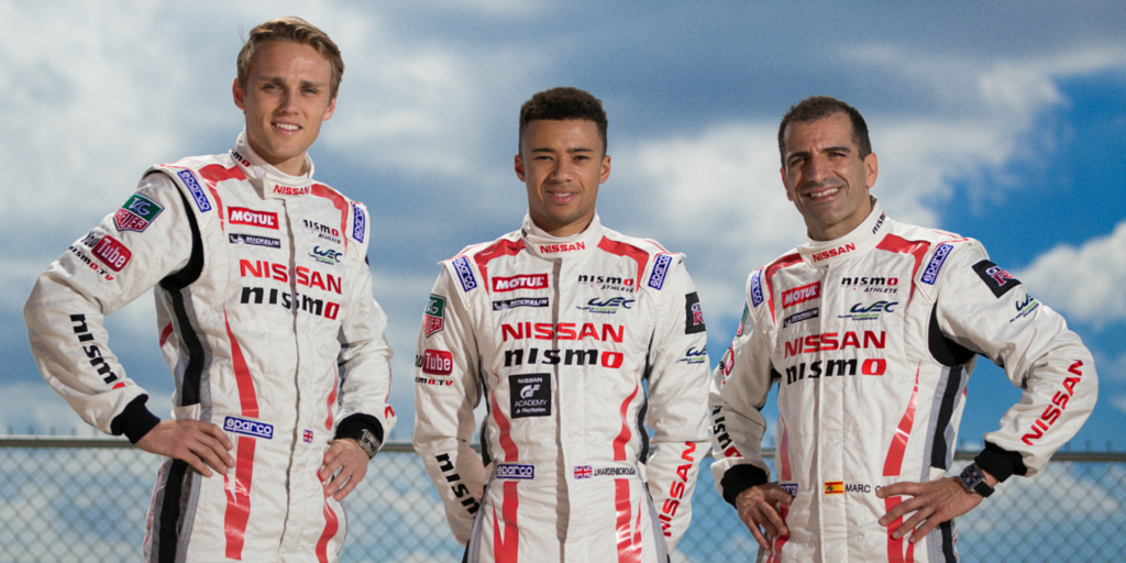 The #23 #Nissan #GTR LM #NISMO will be raced by @marc_gene @Jannthaman and @maxchilton  #GTRLeMans  @FIAWEC http://t.co/wYqdcHtXYJ