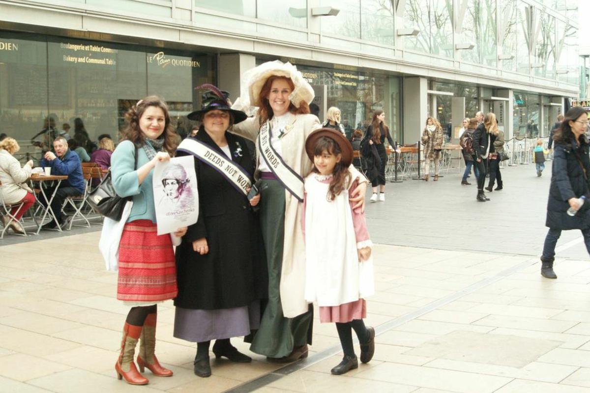 #FreeSavchenko at Women of the World Festival, Southbank http://t.co/8JULjuqwXN