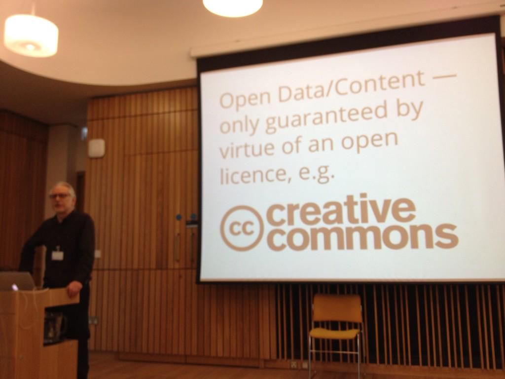 .@ewanhklein data is only open by virtue of having an open licence. #opened http://t.co/1cpVx3gkTI