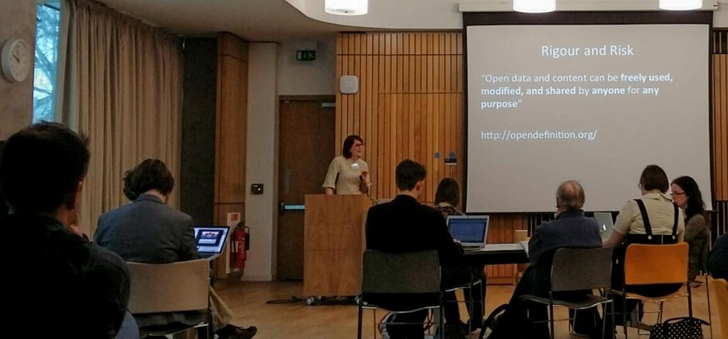 Rigour & Risk: @HoneybHighton explores the benefits #openeducationwk #opened #OER http://t.co/3Ou8anszvA