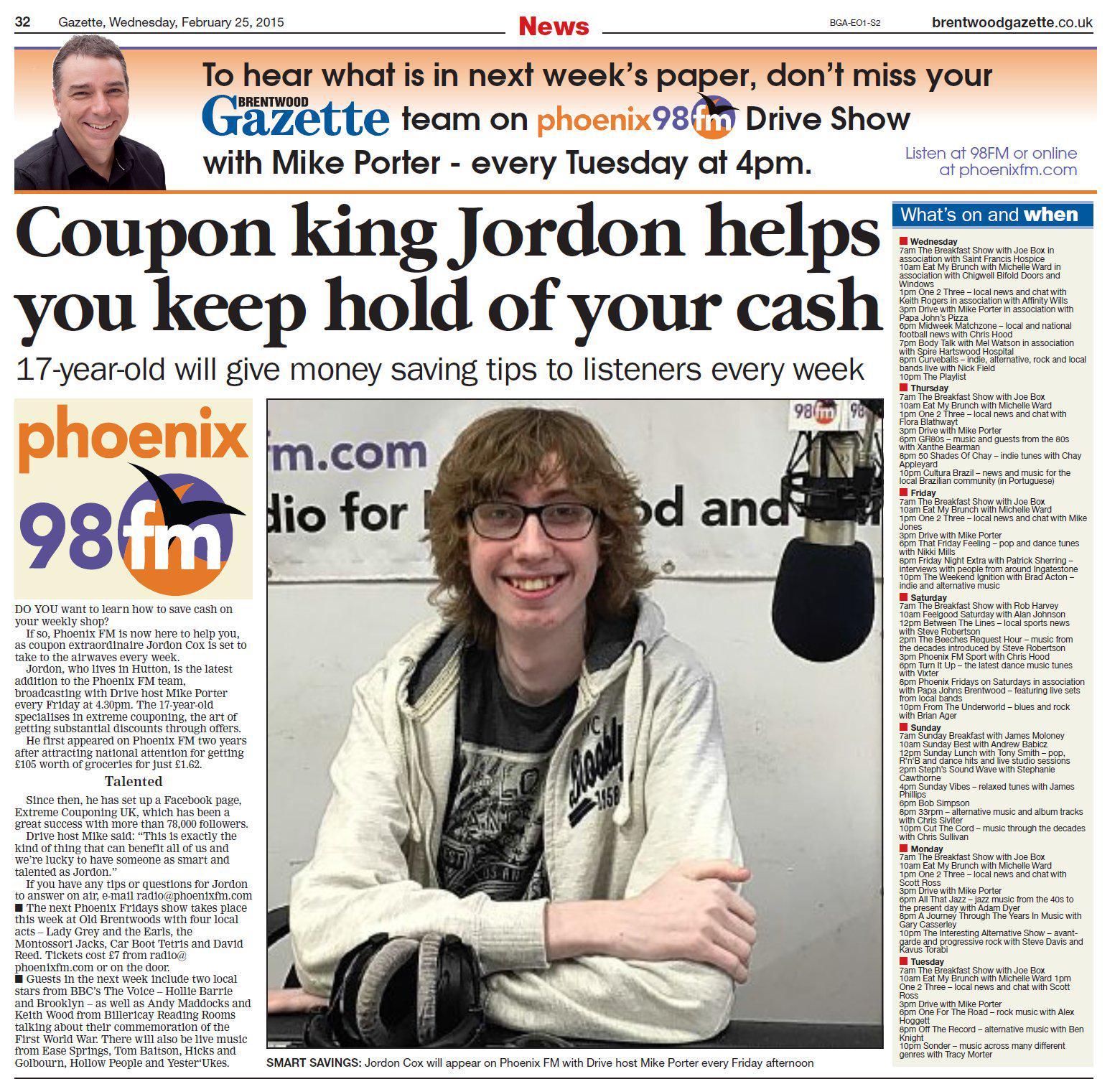 Jordan cox coupons website