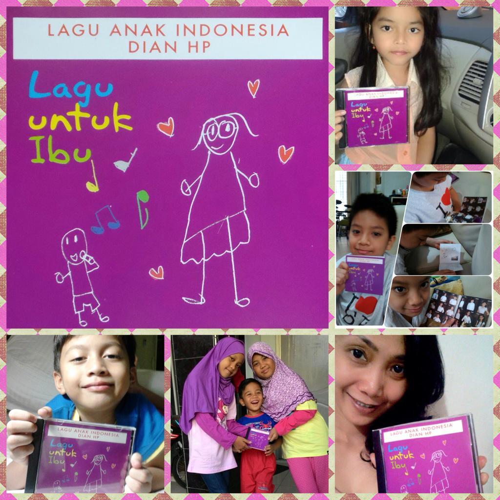 Selamat Hari Musik! CD Lagu Anak Indonesia sdh bisa dipesan melalui SMS Debie 08159100377. http://t.co/69udtCnlkG