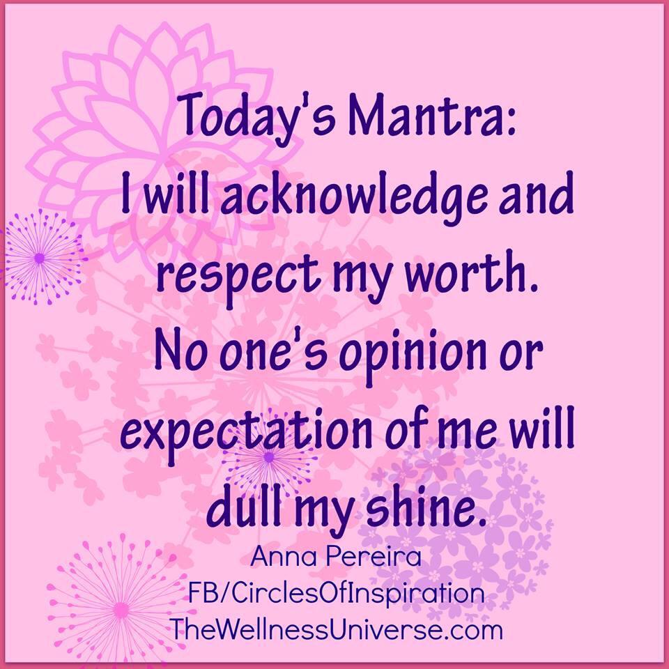 Today's Mantra #WUVIP #TeamBossyGals @Womenworking @Oprah @SheriSalata @ShawneTV http://t.co/QiUm2Zhr3g