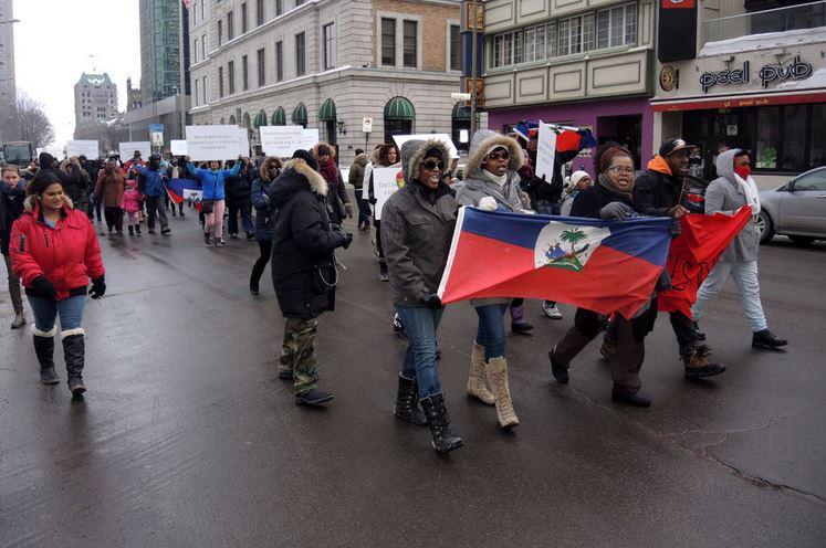 #Montréal #Haïti:Marche contre le racisme dominicain http://t.co/yuORKvjLvn http://t.co/yO2csi32GM