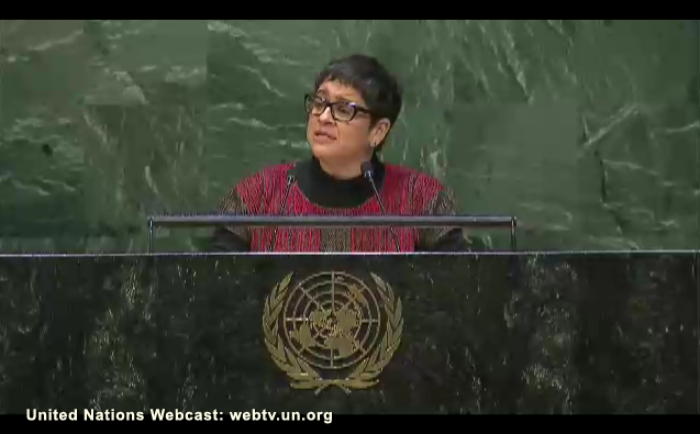 Proud of our ED Lydia Alpizar for her inspiring #CSW59 opening speech! Read it in full here: http://t.co/I5VfcW8zDB http://t.co/GeQrKJMYkO