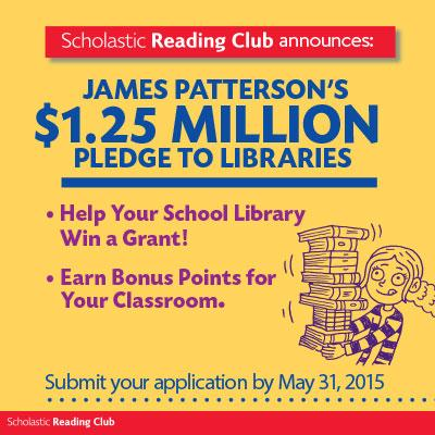 AMAZING NEWSvia @JP_Books @Scholastic http://t.co/pgxEiessBO learn more: http://t.co/c4Clcd2HRJ & APPLY #tlchat #txlchat #enchat #txeduchat