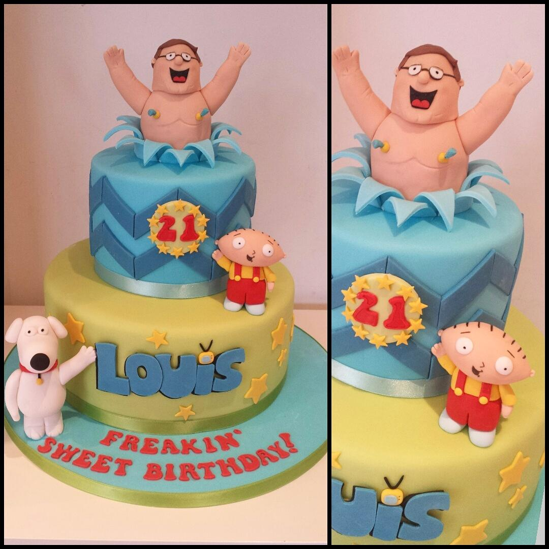 Family guy cake ass