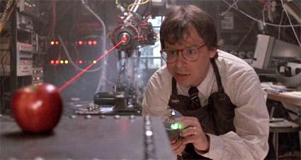 Rick Moranis has been shrinking Apples since 1989. #AppleLive http://t.co/fbIj3jfvCo