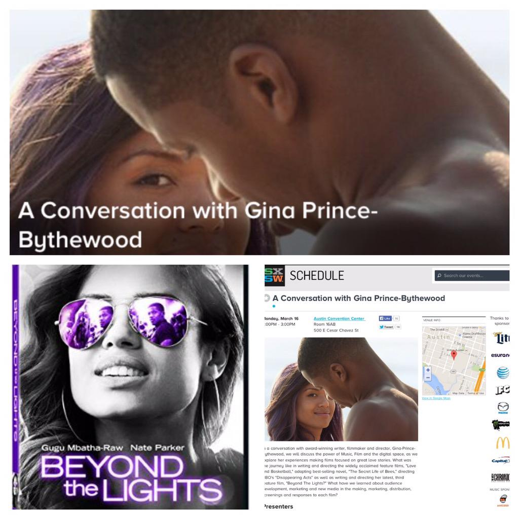 Thumbnail for A Conversation with Gina Prince-Bythewood (@GPBMadeIt) going @BeyondTheLights with @drgoddess at #SXSWFilm #SXSW #BTL