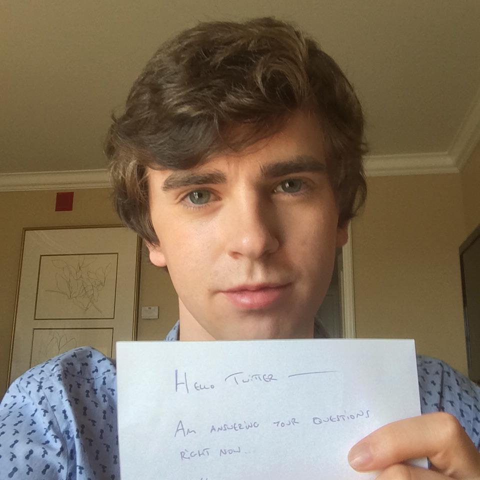 a e network on twitter freddie highmore of batesmotel answers