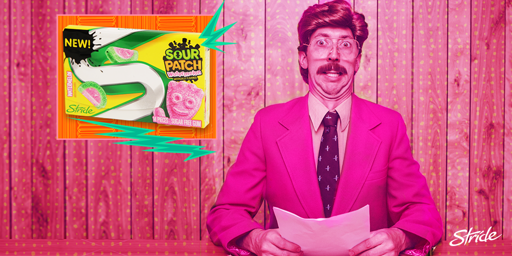 BREAKING NEWS: Watermelon SPK Stride Gum is in stores now. RUN! http://t.co/M93pl7nphi