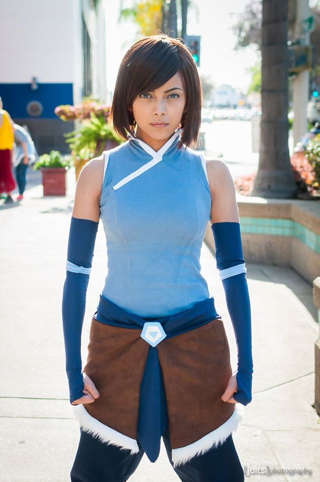 How awesome is @amethyst_leon cosplaying #Korra !? #cosplay http://t.co/PbDsqz4pOM