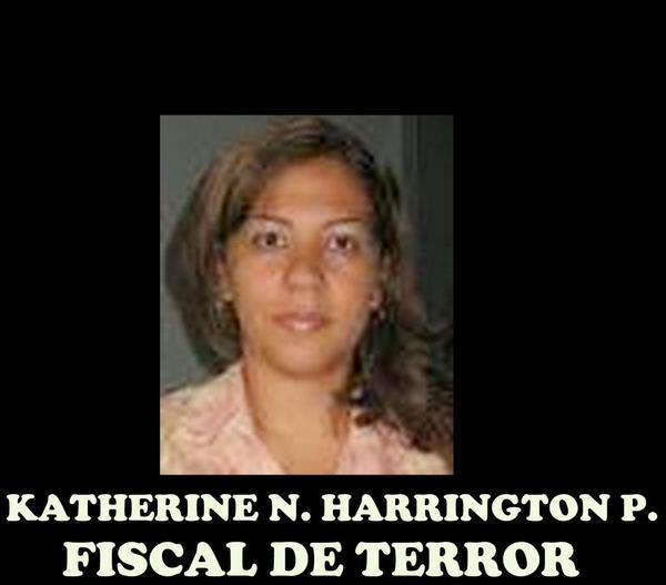 Aquí una de las joyita sancionadas, Katherine Nayarith Haringhton Padrón:FdeN 05-Diciembre-1971; CI No.10548414 http://t.co/4Pa1U09FIF
