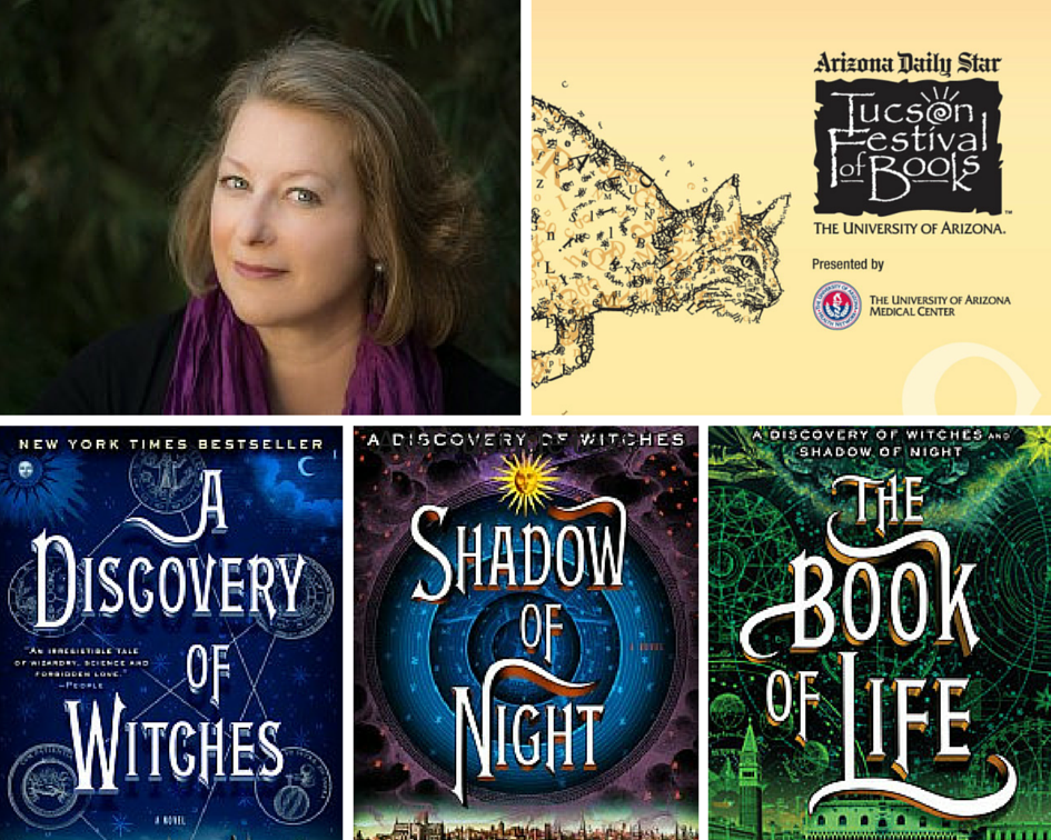 Read our interview with best-selling #TFOB author @DebHarkness of the ALL SOULS TRILOGY at http://t.co/0MTp5y9vhJ. http://t.co/T6s3OS9dL8