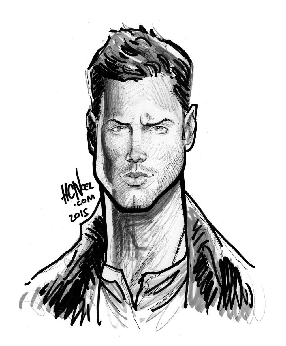 My new #art of @JensenAckles from @cw_spn #Supernatural #JensenAckles http://t.co/uF6V1gRZv9