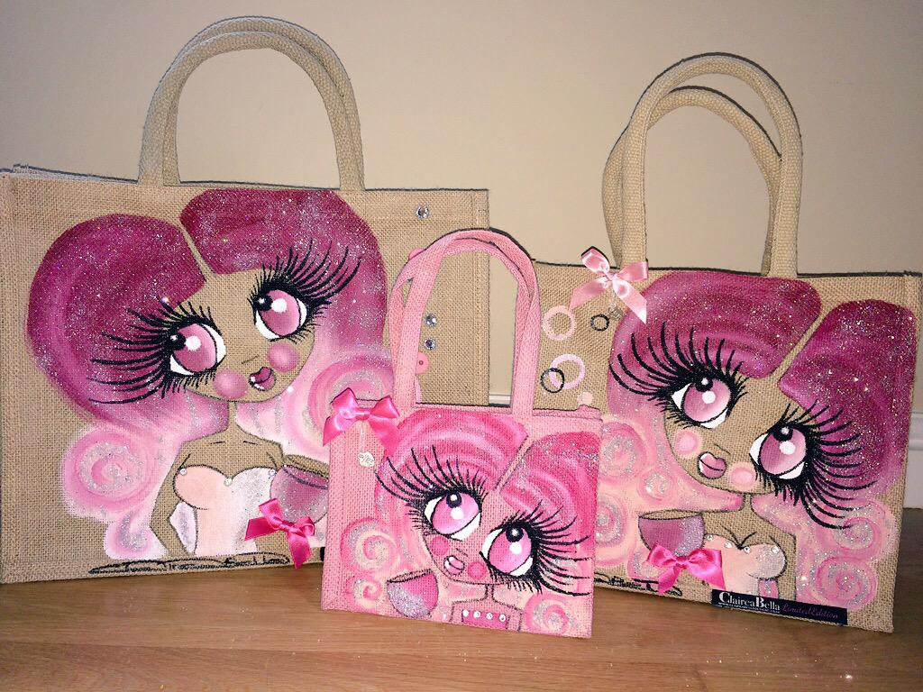 Winner chosen @ random @ 9pm tomorrow For the chance to #Win this 3 bag set, just RT & Follow @ClaireaBellaLtd