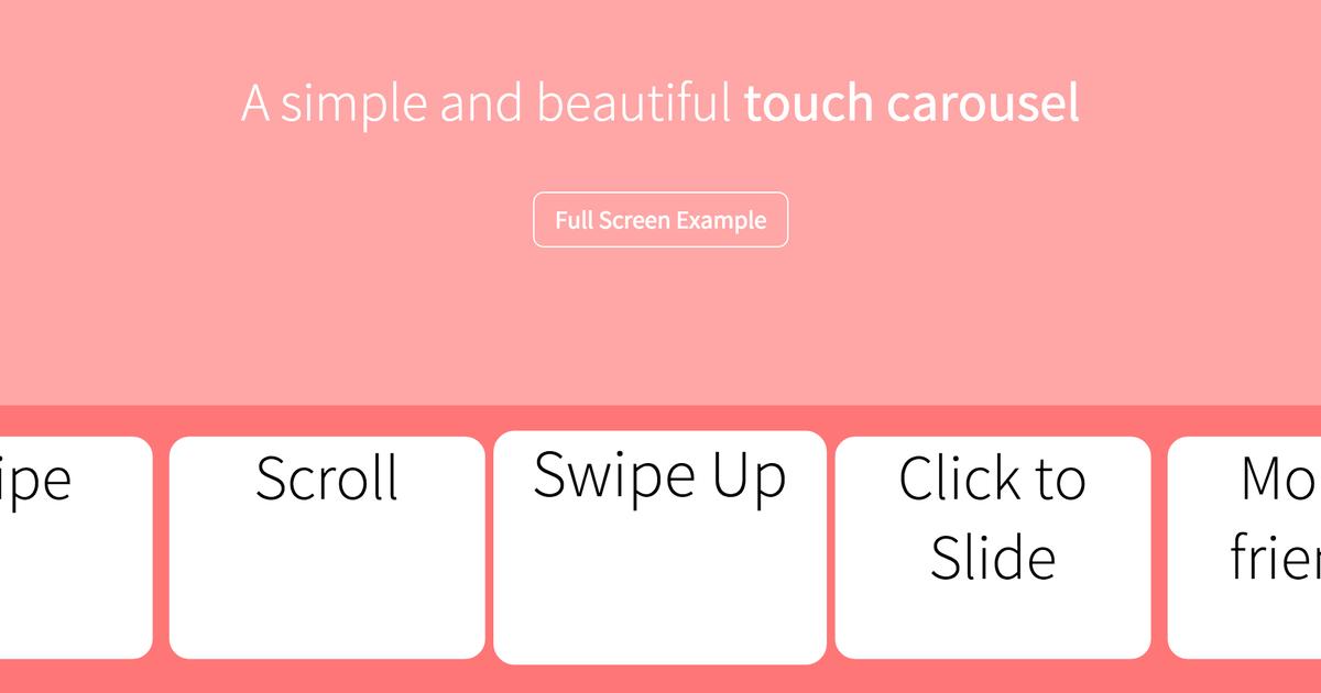 Simple Carousel Js