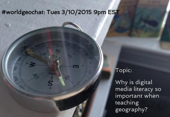 Enjoy this #sschat discussion? Join me & @GeoSpiegs tomorrow for more Media Literacy chat in #worldgeochat http://t.co/7RrYLEgukt