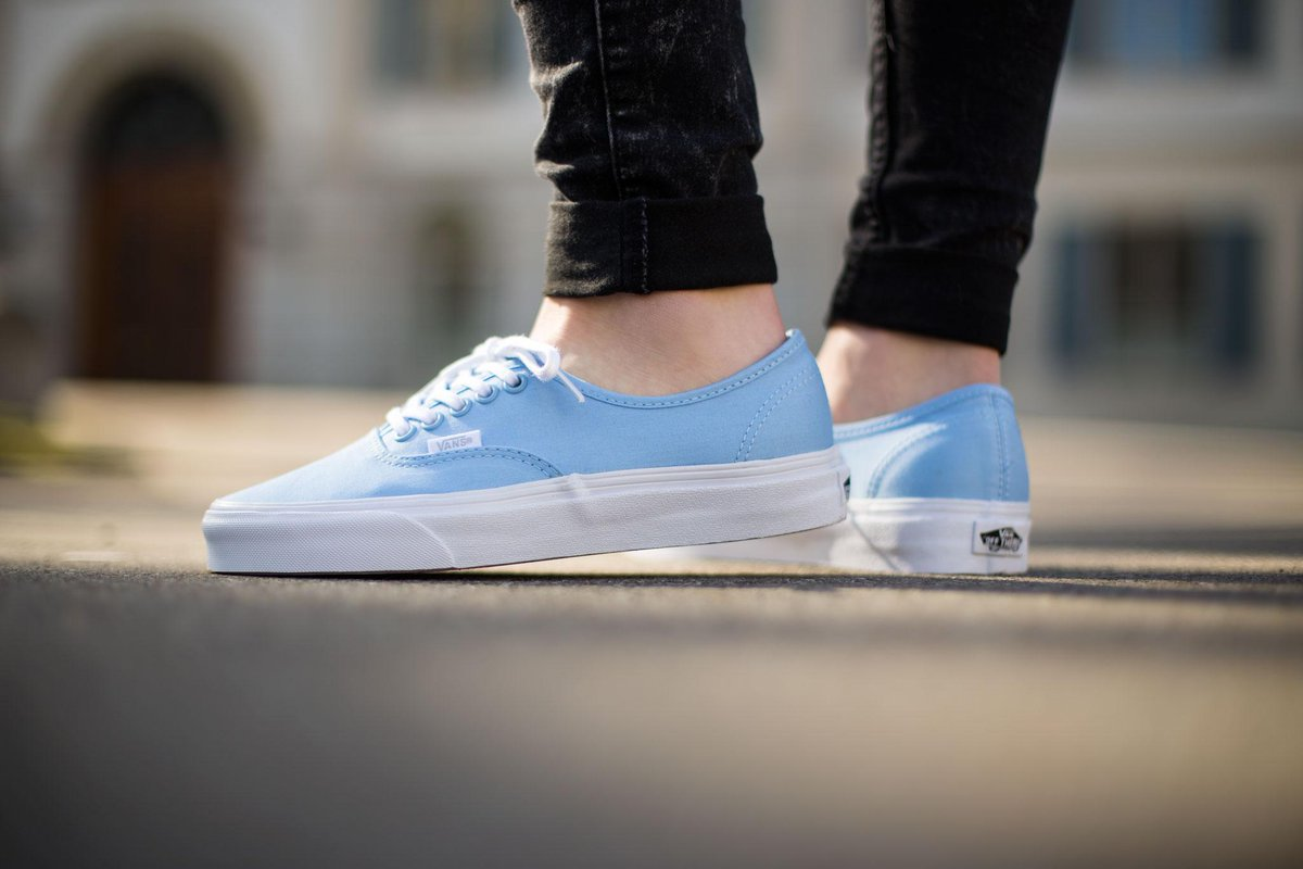 vans authentic blue bell