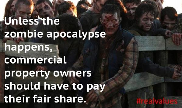 We aren't fighting zombies. We need a fair, transparent & effective property tax system in TX. #realvalues #txtaxes http://t.co/E57eEUdRMt