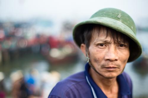 Fishermen can look quiet tired after a night at sea #Vietnam http://t.co/zOPK0ijIoB