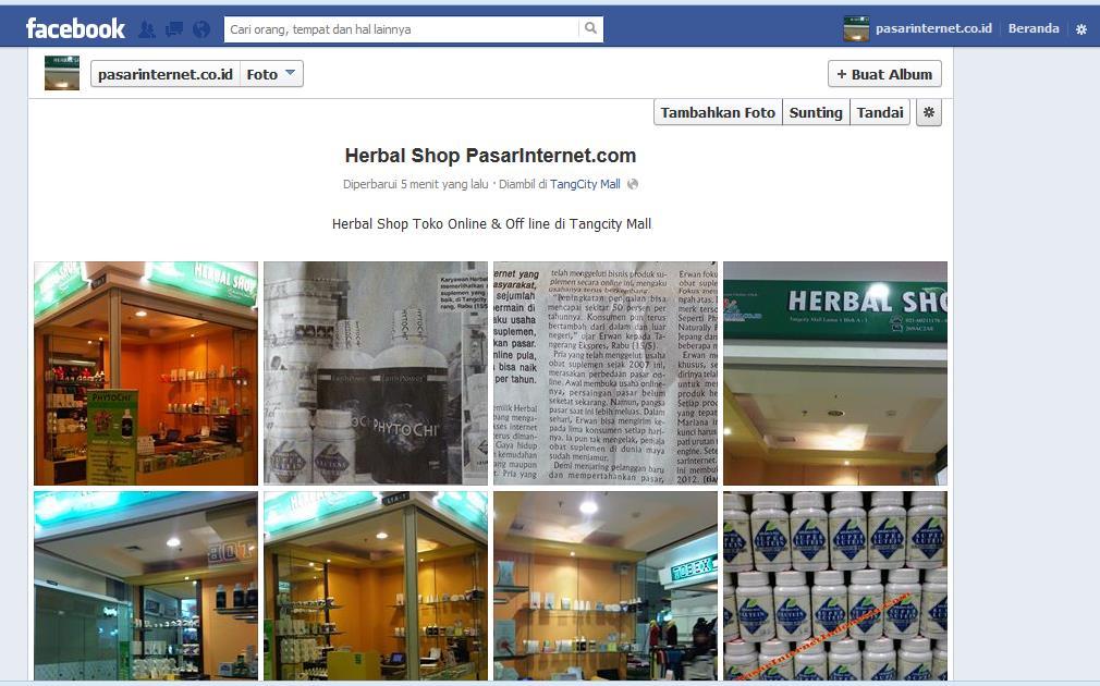 Herbal shop Pasarinternet.com