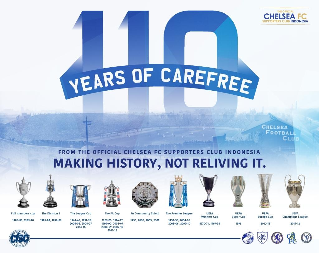 Chelsea Indonesia On Twitter 110 Years And Keep Counting Happy