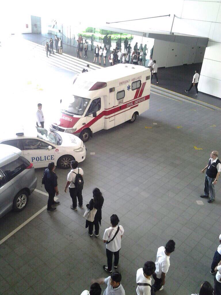 Slashing Incident at ITE College West | The Real Singapore
