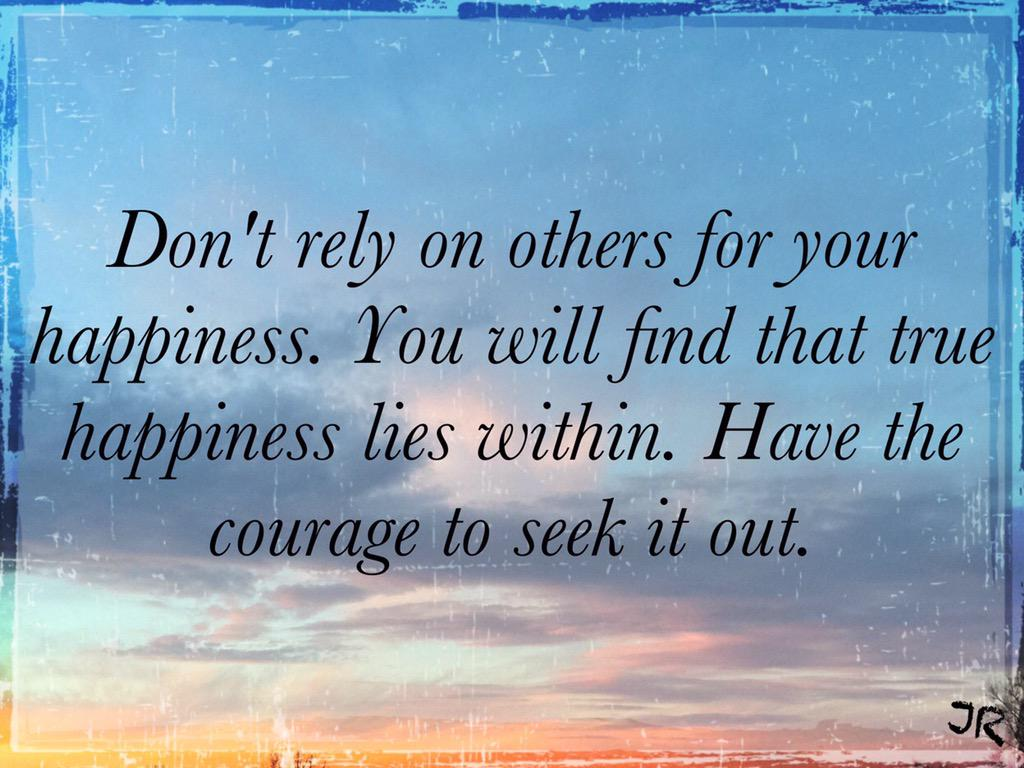 """Joni On Twitter: """"Don't Rely On Others For Your Happiness"""
