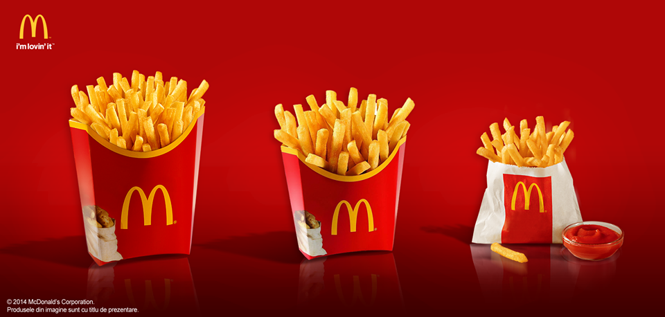 Mcdonald S Lebanon On Twitter Same Greatness Different Sizes