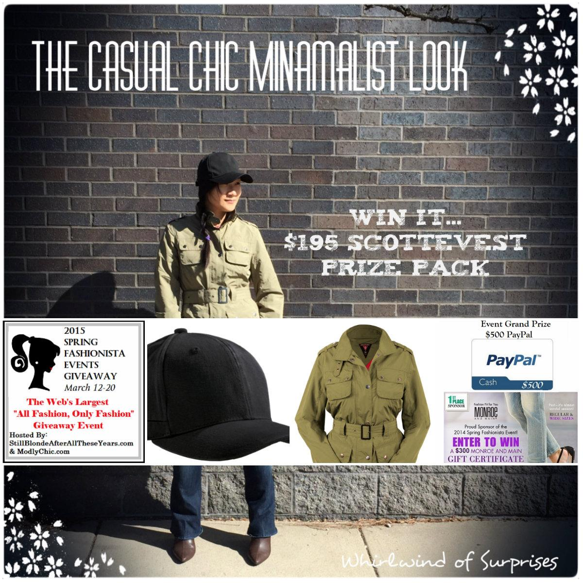 Spring Fashionista Scottevest Giveaway