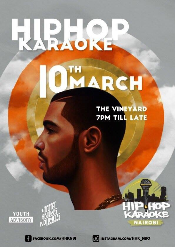 """@VineyardKenya: The Hip Hop Karaoke happening tonight at @VineyardKenya from 7PM. Come show us what you got. http://t.co/9Wxgbwc1NJ"""