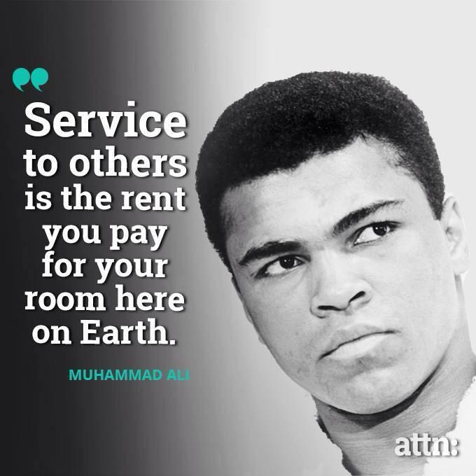 Muhammad Ali Top 10 Quotes: Kathryn Bertine (@KathrynBertine)