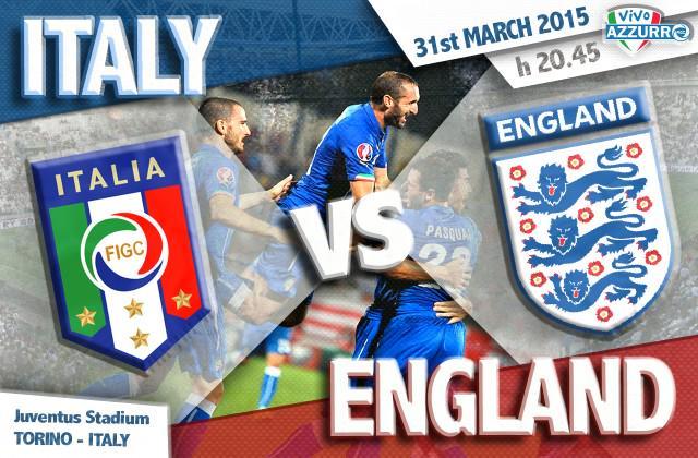 Calcio Italia-Inghilterra, amichevole del 31 marzo