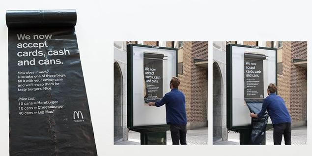 In Stockholm, @McDonalds's accepts cans as payment for burgers http://t.co/4JtSKnQtC2 #CurrenciesOfChange http://t.co/8aWWrmPZdb