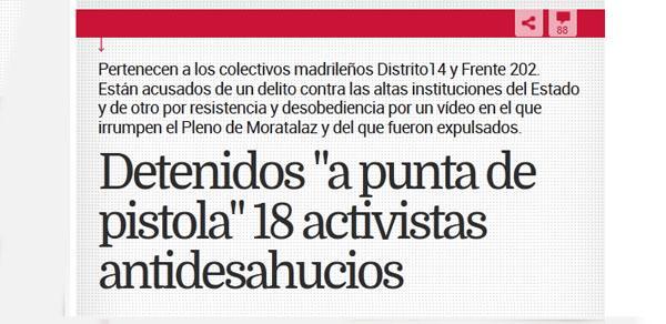 Cifuentes la candidata del PP justifica las acciones de la policía , MIENTE #YoTambienSoyD14  http://t.co/oCawh3TtMG http://t.co/KO8wKINjDz