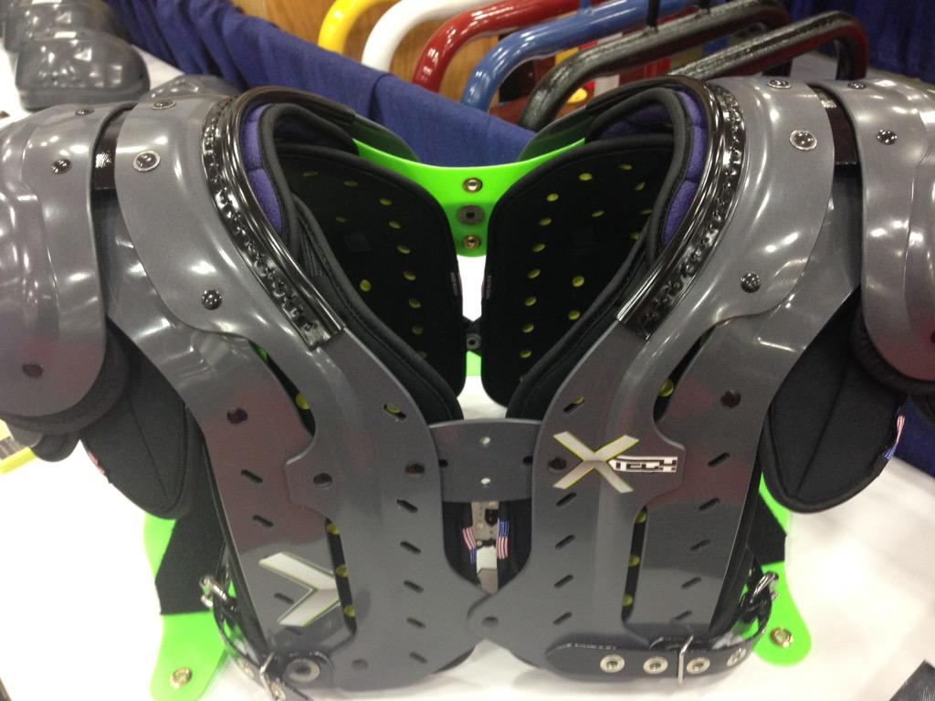 XTECH Pads on Twitter: quot;Report From NFL Equipment Show in Houston: XTECH Pads Gets Top Honors In