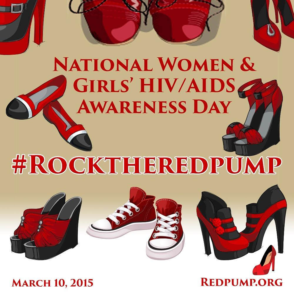 Every 47 minutes, a woman tests positive for HIV in the U.S. This is one of reasons why we #RocktheRedPump. http://t.co/JFH8dOd9X3