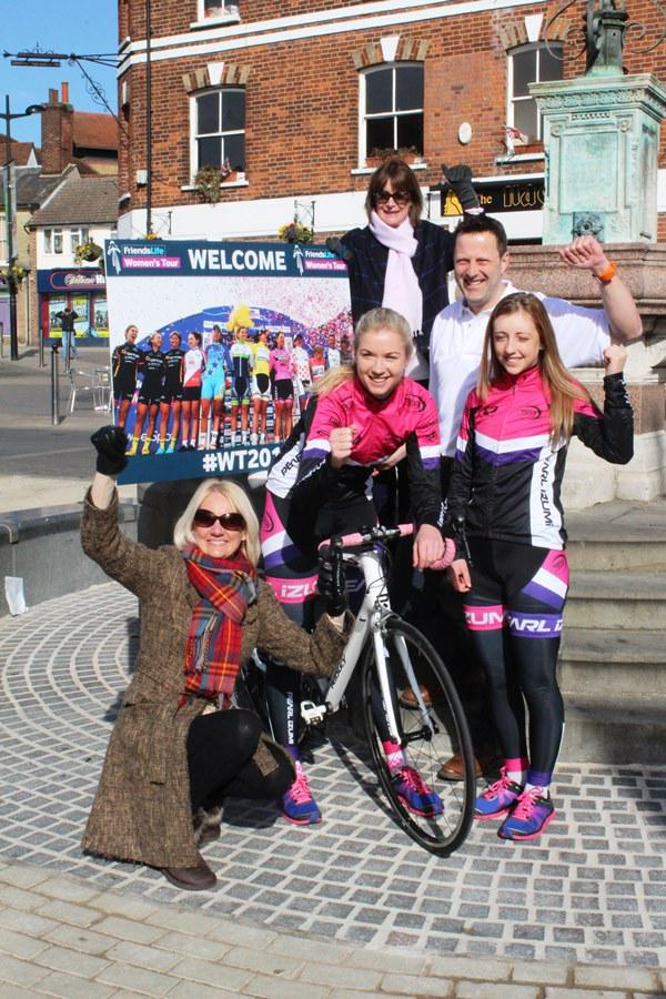 Today we launched Braintree as Stage 2 start of @thewomenstour http://t.co/MJhJ2VIWvf @ActiveEssex @FriendsLifeTour http://t.co/h27t8hvZAg