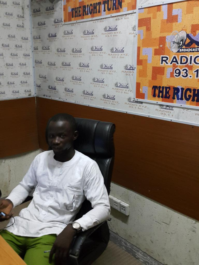 youth expert /activist @AzeezGomda in the house for @africainfocus14 @KojoAbroba @OSIWA1 http://t.co/xQhtclV3vI