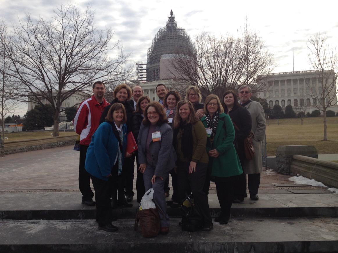 We're on the Hill today advocating for #afterschool. #invest3to6 http://t.co/lxDWN9hwJG
