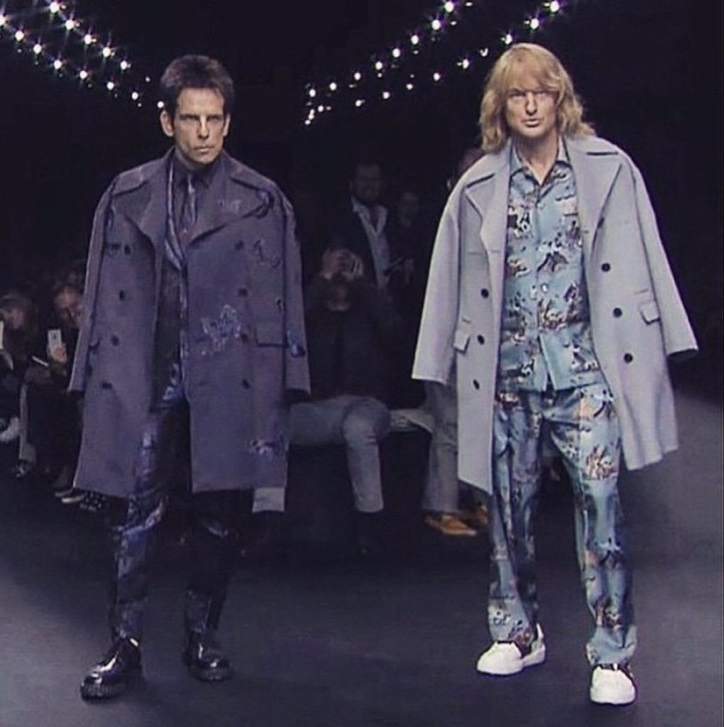 REGRAM: this is EVERYTHING #Zoolander2 #Valentino #PFW #bluesteel @MaisonValentino ❤️❤️ http://t.co/02E25dlcHw